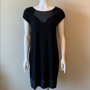 BCBGMAXAZRIA Silk & Rayon Short Dress
